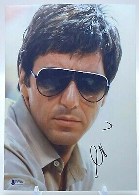 £245 • Buy Al Pacino Signed 12x8 Photo Scarface BAS Beckett Certified