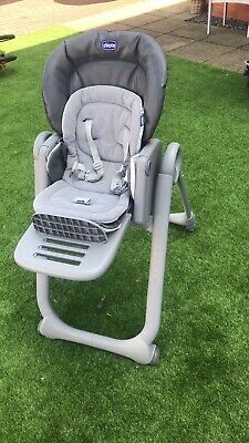 Chicco Polly Magic Relax Highchair - Graphite • 70£