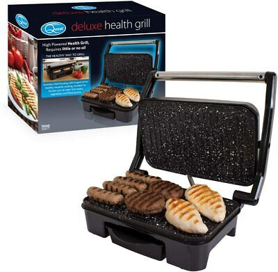 Table Top Compact 1500w Health Grill Grille Sandwich Panini Toastie Maker Press  • 28.99£