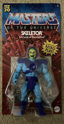 $29.95 • Buy New Masters Of The Universe Origins Skeletor 5.5 Action Figure Retro 2020 Mattel