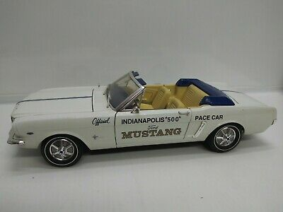 $11.99 • Buy 1:12 Ertl Ford Mustang '64 1/2 Indy Pace Car Convertible