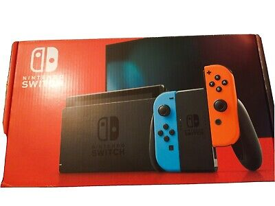 AU380 • Buy Nintendo Switch 32GB Neon Blue/Neon Red Console (Brand New)