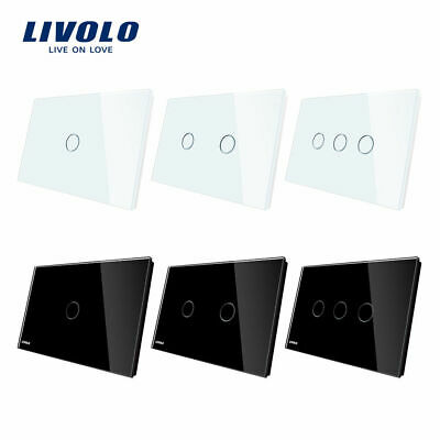AU30.08 • Buy LIVOLO AU Power Points Touch Wall Light Switch LED 1/2/3Gang 1way With Indicator