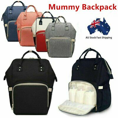 AU19.90 • Buy Multifunctional Large Baby Diaper Backpack Mummy Nappy Changing Bag