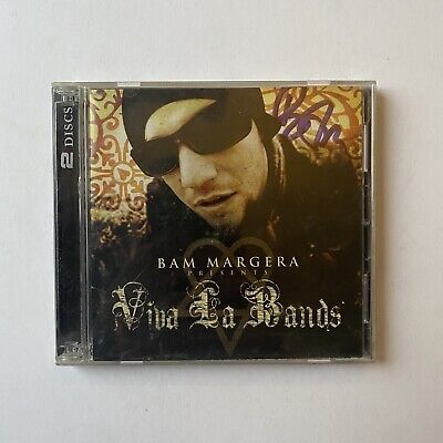 Viva La Bands Compilation Cd SIGNED By Bam Margera VERY RARE • 79.26£