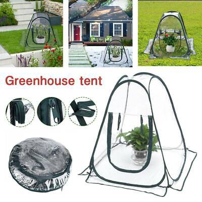 Mini Pop Up Garden Plants Flower Cover Greenhouse Outdoor Tent Cloche Propagator • 23.69£
