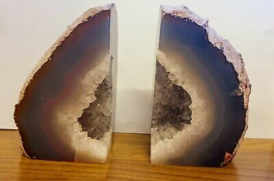Agate Bookends • 25£