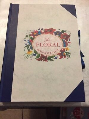NEW! Special Occasion Floral Photo Album Holds 28 Photos, 12 Leaves • 2.50£
