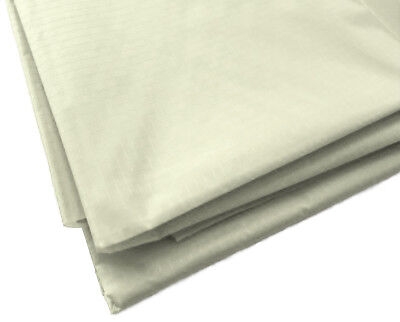 £3.88 • Buy Ivory Waterproof Rip Stop Ripstop Fabric Nylon Look Material Cover 150cm Wide