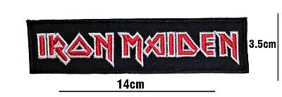 £2.49 • Buy Iron Maiden Rock Punk Music Band Embroidered Patch Iron Or Sew On Badge Logo