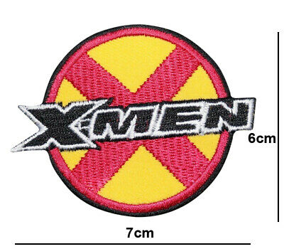 £2.49 • Buy X- Men LOGO MARVEL COMIC MOVIE IRON / SEW ON PATCHES EMBROIDERED BADGE
