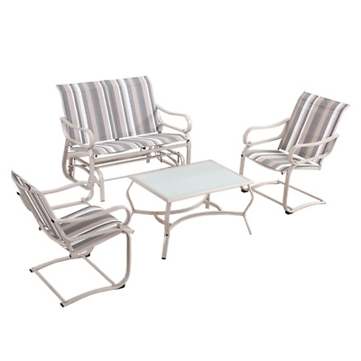 AU215.95 • Buy Outdoor Furniture Garden Patio Table Dining Chair Swing Chairs Sofa Set Lounge