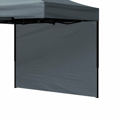 AU29.96 • Buy Mountview Gazebo Walls 3x3 Outdoor Side Wall Waterproof Party Wedding Dark Grey