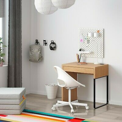 IKEA MICKE COMPUTER DESK, TABLE, HOME, OFFICE 73 X 50 Cm 3 COLOURS AVAILABLE • 69.99£