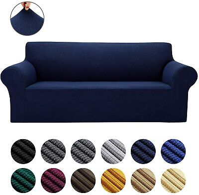 AU30.59 • Buy 1 2 3 4 Seater High Stretch Sofa Cover Couch Lounge Recliner Slipcover Protector