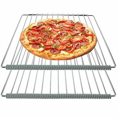 £3.49 • Buy Universal Oven Cooker Shelf Burn Guard Heat Resistant Silicone Strips X 2