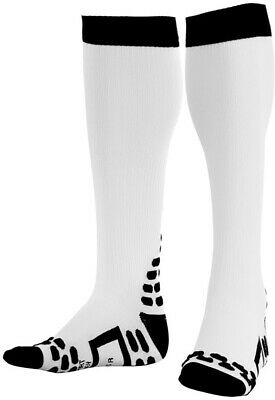 Orca Full Length Compression Socks White 3D Dots Injury Protection And Recovery • 10.89£