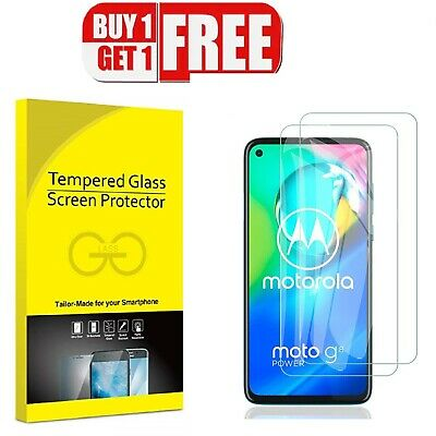 For Motorola G8 Series Tempered Glass Screen Protector Case Friendly • 1.99£