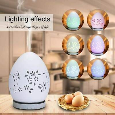 AU126.99 • Buy Ceramic Aroma Diffuser,Aromatherapy Ultrasonic Essential Oil Fragrance Humidifie