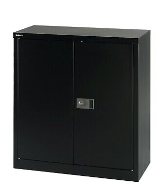 Bisley (E402A01) 1000H 2-Door Cupboard 12 Month Guarantee • 168£