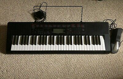 $55 • Buy Casio LK-160 Lighted Keyboard With Damper Sustain Pedal!