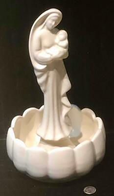 $9.99 • Buy Vintage Haeger Pottery Virgin Mary & Child Planter Statue, Marked USA