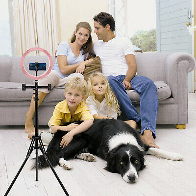 AU29.90 • Buy 10inch LED Ring Light With Tripod Stand & Phone Holder Make-up For IPhone Camera