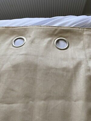 Next Eyelet Curtains, 66 X 72 , Used But Still In Excellent Condition • 4.50£