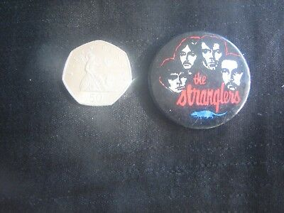 A Vintage The Stranglers  Badge ( Music, Band.)  • 5.99£