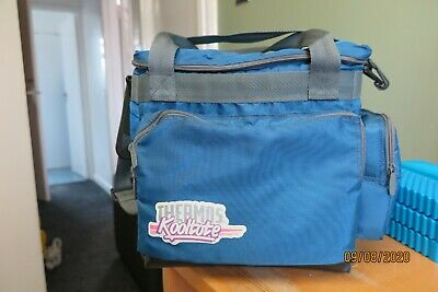 Quality Thermos Kooltote Cooler Shoulder Bag - Large + Ice Blocks - Look • 12.99£