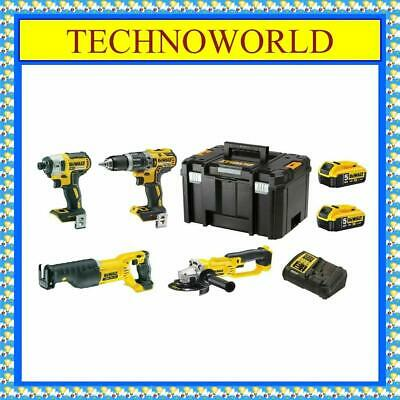 $771.11 • Buy Dewalt Dcz494p2-xe 4pc Kit◉reciprocating Saw◉grinder◉hammer Drill◉impact Driver