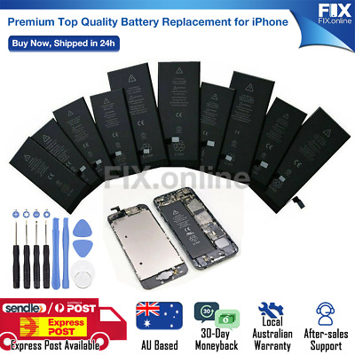 AU11.95 • Buy For IPhone 6 6s Plus 7 8 Plus XS Max Li-ion Replacement Battery FULL Capacity S