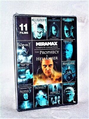 The Prophecy & Hellraiser Complete Collection (DVD, 2014) Christopher Walken • 28.35£