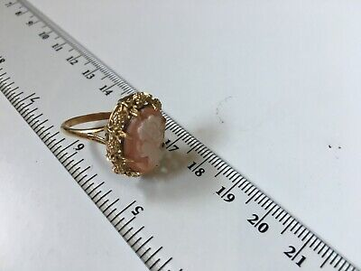 Gold Cameo Ring • 270£