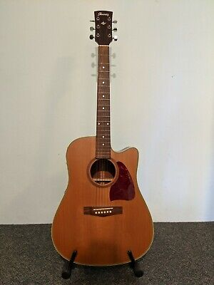 AU450 • Buy Ibanez AW15CE-LG Electric-Acoustic Guitar With Hard Case