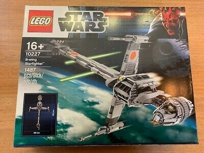 AU199 • Buy Lego Star Wars UCS B-Wing Starfighter (#10227). Built Once & Displayed.