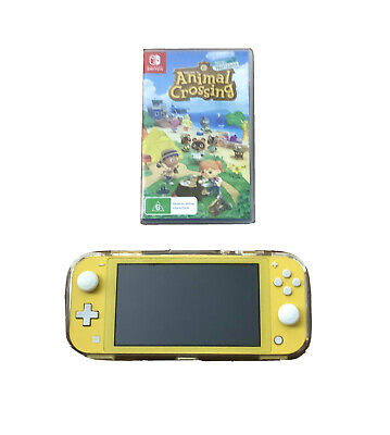AU325 • Buy Nintendo Switch Lite With Animal Crossing New Horizons