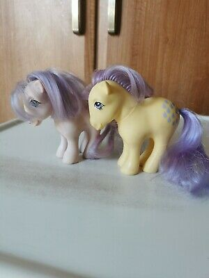 My Little Pony G1 Blossom & Lemon Drop Vintage Toy Hasbro 1982 Collectibles • 15£