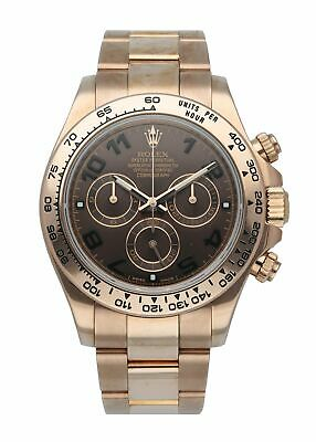 $ CDN52726.70 • Buy Rolex Daytona Cosmograph 116505 Rose Gold Mens Watch