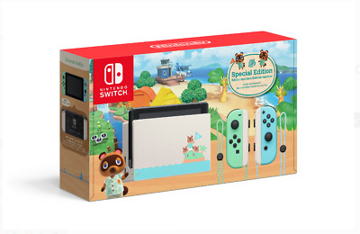 $ CDN349.49 • Buy Nintendo HADSKEAAA Switch - Animal Crossing: New Horizon Special Edition
