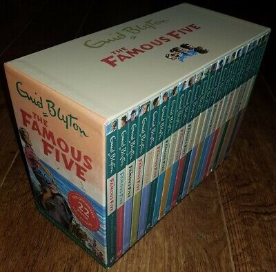 The Famous Five Collection 22 Books Box Set By Enid Blyton Excellent  • 39£