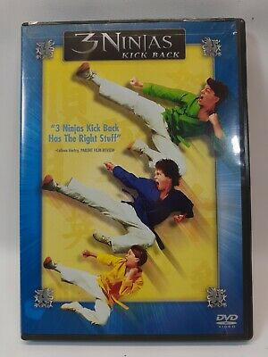 $ CDN43.22 • Buy 3 Ninjas Kick Back DVD (1994) Full Screen - Victor Wong - Rare OOP