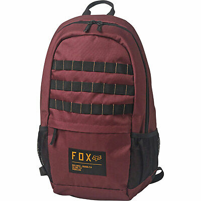 AU69.39 • Buy Fox Racing Men's 180 Backpack Bag Cranberry Red Travel Accessories School Bac...