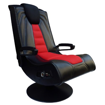 AU393.46 • Buy X Rocker Pedestal Extreme III 2.1 Sound Wireless Video Foldable Gaming Chair And