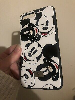 AU29 • Buy Swarovski IPhone Disney Mickey 7 8 Plus Case Bumper Protect Crystal Sparkle Used