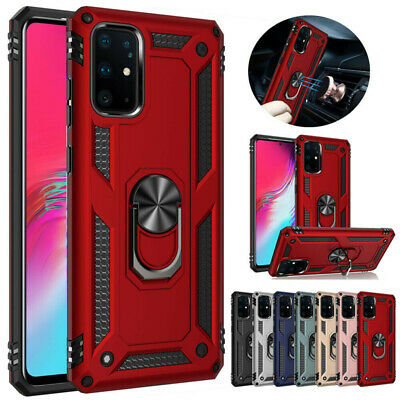 $ CDN6.33 • Buy For Samsung S20 S10 S9 S8 S7 Plus Ultra Ring Stand Shockproof Armor Case Cover