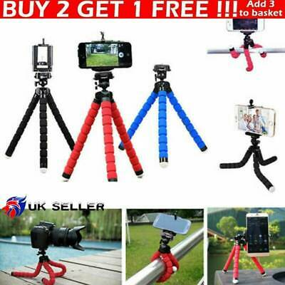 Universal Mobile Phone Tripod Stand Grip Mount For Camera Mobile Phone Holder SP • 3.59£