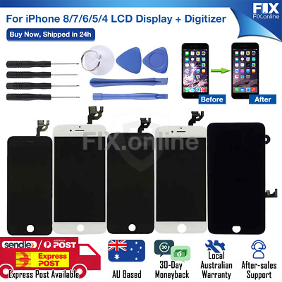 AU26.88 • Buy New IPhone 8 Plus 7 6S 6 LCD Touch Screen Digitizer Replacement Touch Display S