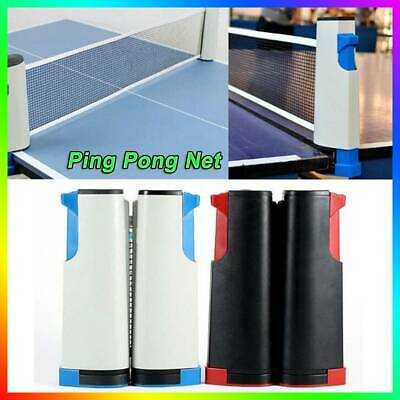Portable Retractable Net Table Tennis Kit Ping Pong Net UK Fast Delivery !! • 9.59£