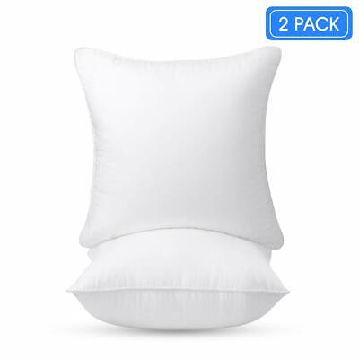 £7.35 • Buy Pack Of 2 Cushions Filled All Sizes Cushion Pads Inserts Inners Fillers Scatters